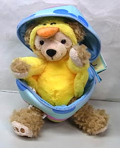 DISNEY USAディズニーテーマパーク限定 DUFFY THE DISNEY BEAR 9INCH 2013 EASTER DUFFY THE DISNEY BEAR