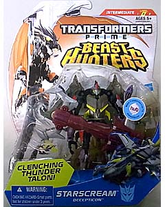 HASBRO TRANSFORMERS PRIME BEAST HUNTERS DELUXE CLASS STARSCREAM
