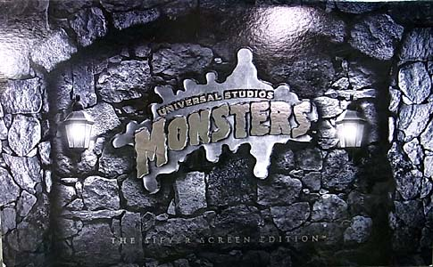 SIDESHOW UNIVERSAL MONSTERS 8インチ アクションフィギュア THE SILVER SCREEN EDITION 3PACK