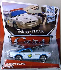MATTEL CARS 2013 シングル SECURITY GUARD FINN