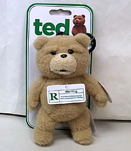 COMMONWEALTH TOYS TED バックパッククリップ トーキングプラッシュ
