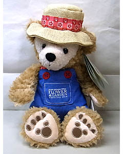 DISNEY USAディズニーテーマパーク限定 DUFFY THE DISNEY BEAR 12INCH 2013 FLOWER & GARDEN DUFFY THE DISNEY BEAR