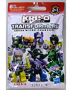 HASBRO KRE-O TRANSFORMERS KREON MICRO CHANGERS PREVIEW SERIES 1PACK