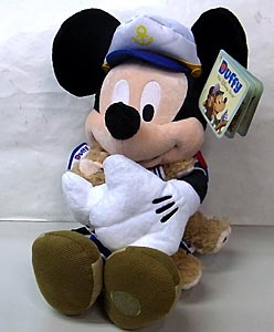 DISNEY USAディズニーストア限定 17INCH SAILOR MICKEY MOUSE & SAILOR DUFFY THE DISNEY BEAR