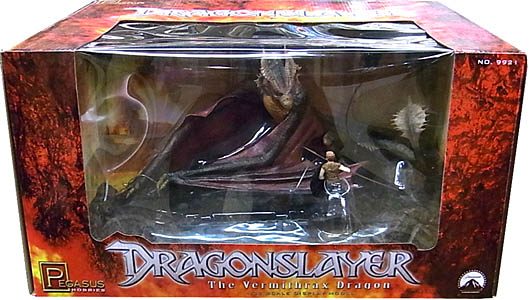 PEGASUS HOBBIES 1/32スケール DRAGON SLAYER THE VERMITHRAX DRAGON 塗装、組み立て済み完成品