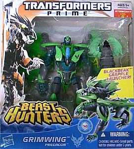 HASBRO TRANSFORMERS PRIME BEAST HUNTERS VOYAGER CLASS GRIMWING