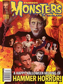 FAMOUS MONSTERS OF FILMLAND #252 [HAMMER FILMS COVER]