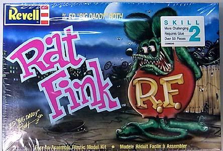REVELL ED ROTH RAT FINK 組み立て式プラモデル パッケージ傷み特価