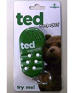 UNDERGROUND TOYS TED トーキングキーホルダー