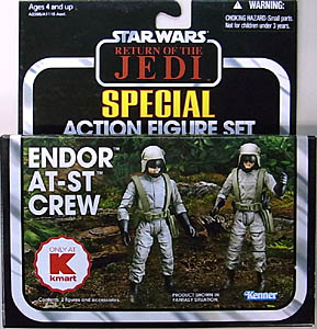 HASBRO STAR WARS 2013 THE VINTAGE COLLECTION USA KMART限定 SPECIAL ACTION FIGURE SET ENDOR AT-ST CREW