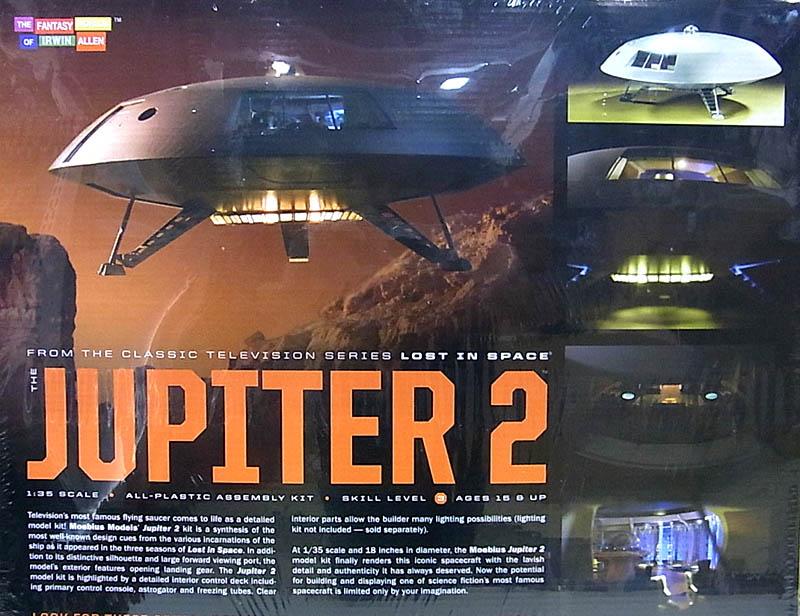 メビウスモデル 1/35スケール 宇宙家族ロビンソン ジュピター2号 組み立て式プラモデル