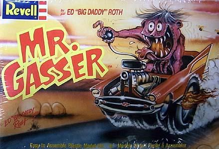 REVELL ED ROTH MR. GASSER 組み立て式プラモデル