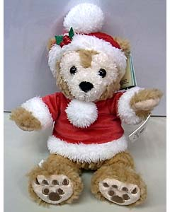 DISNEY USAディズニーテーマパーク限定 DUFFY THE DISNEY BEAR 9INCH HOLIDAY DUFFY THE DISNEY BEAR