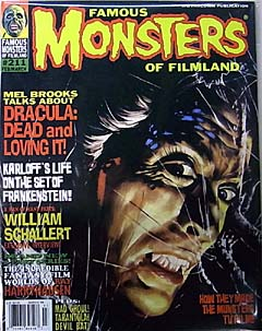FAMOUS MONSTERS OF FILMLAND #211 特価