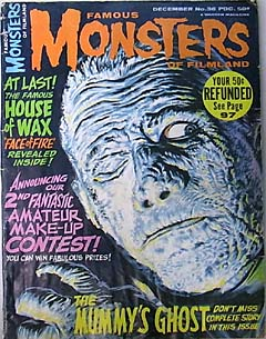 FAMOUS MONSTERS OF FILMLAND #36 特価