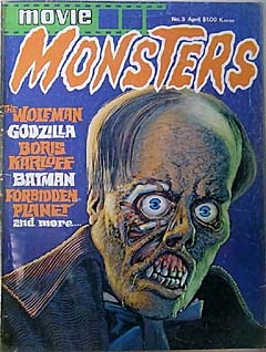 MOVIE MONSTERS #3 特価