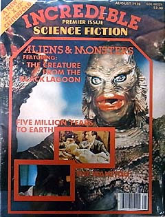 INCREDIBLE SCIENCE FICTION #1