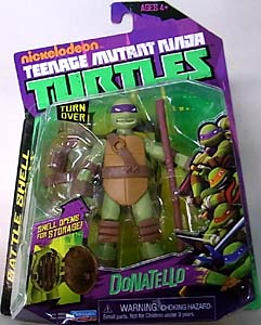 PLAYMATES NICKELODEON TEENAGE MUTANT NINJA TURTLES ベーシックフィギュア BATTLE SHELL DONATELLO