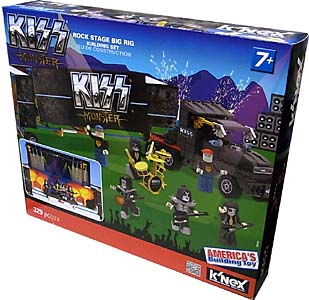 K'NEX KISS MONSTER ROCK STAGE BIG RIG BUILDING SET