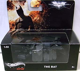 MATTEL HOT WHEELS 1/50スケール ELITE ONE 映画版 THE DARK KNIGHT RISES THE BAT
