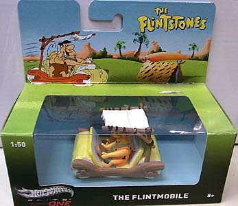MATTEL HOT WHEELS 1/50スケール ELITE ONE THE FLINTSTONES THE FLINTMOBILE