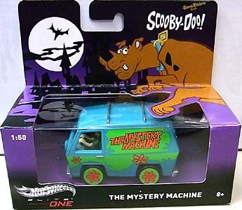 MATTEL HOT WHEELS 1/50スケール ELITE ONE SCOOBY-DOO! THE MYSTERY MACHINE