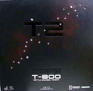 HOT TOYS MOVIE MASTERPIECE DX 1/6スケール TERMINATOR 2 T-800 [BATTLE DAMAGED]