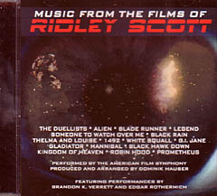 MUSIC FROM THE FILMS OF RIDLEY SCOTT リドリー・スコット監督作品集
