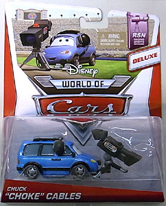 MATTEL CARS 2014 DELUXE CHUCK CHOKE CABLES