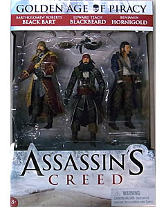 McFARLANE ASSASSIN'S CREED 6インチアクションフィギュア GOLDEN AGE OF PIRACY 3PACK