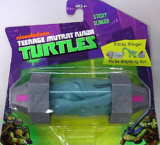 PLAYMATES NICKELODEON TEENAGE MUTANT NINJA TURTLES STICKY SLINGER