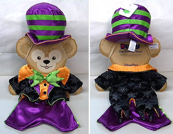 DISNEY USAディズニーテーマパーク限定 DUFFY THE DISNEY BEAR COSTUME [HALLOWEEN HAUNTED MANSION CARETAKER]