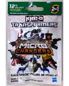 HASBRO KRE-O TRANSFORMERS KREON MICRO CHANGERS SERIES 3 1PACK