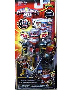 USA BANDAI POWER RANGERS 20TH ANNIVERSARY RETROFIRE SERIES MIGHTY MORPHIN DINO MEGAZORD FIGURE