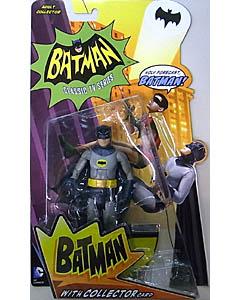 MATTEL BATMAN CLASSIC TV SERIES 6インチアクションフィギュア BATMAN 台紙傷み特価