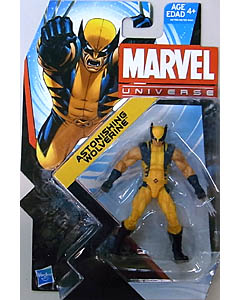 HASBRO MARVEL UNIVERSE SERIES 5 #009 ASTONISHING WOLVERINE