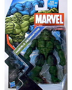 HASBRO MARVEL UNIVERSE SERIES 5 #019 MARVEL'S ABOMINATIONS ABOMINATION ブリスターハガレ特価