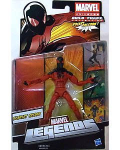 HASBRO MARVEL LEGENDS 2013 SERIES 2 ROCKET RACCOON SERIES SCARLET SPIDER ブリスターイタミ特価