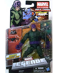 HASBRO MARVEL LEGENDS 2013 SERIES 2 ROCKET RACCOON SERIES MARVEL'S WRECKING CREW WRECKER ブリスターハガレ&ワレ、台紙傷み特価