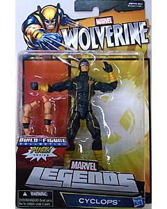 HASBRO MARVEL LEGENDS 2013 WOLVERINE PUCK SERIES CYCLOPS