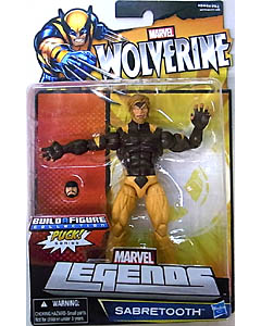 HASBRO MARVEL LEGENDS 2013 WOLVERINE PUCK SERIES SABRETOOTH