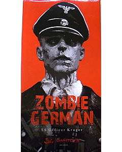 DAMTOYS 1/6スケール ZOMBIE GERMAN SS OFFICER KRUGER
