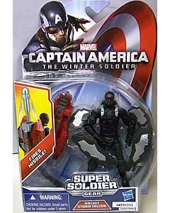 HASBRO 映画版 CAPTAIN AMERICA: THE WINTER SOLDIER 3.75インチ SUPER SOLDIER GEAR ROCKET STORM FALCON [国内版]