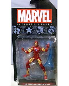 HASBRO AVENGERS 3.75インチ INFINITE SERIES HEROIC AGE IRON MAN [国内版]