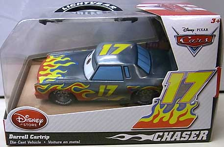 CARS 2014 USAディズニーストア限定 ダイキャストミニカー CHASER DARRELL CARTRIP