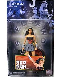 DC DIRECT ELSEWORLDS SERIES 1 RED SON WONDER WOMAN