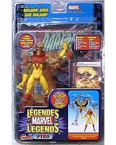 TOYBIZ MARVEL LEGENDS 13 ONSLAUGHT SERIES PYRO [表記違い] ブリスターワレ特価