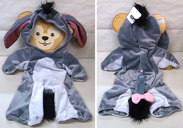 DISNEY USAディズニーテーマパーク限定 DUFFY THE DISNEY BEAR COSTUME [EEYORE]