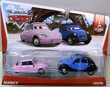 MATTEL CARS 2014 2PACK NANCY & JOHN ブリスター傷み特価