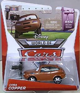 MATTEL CARS 2014 シングル CORA COPPER